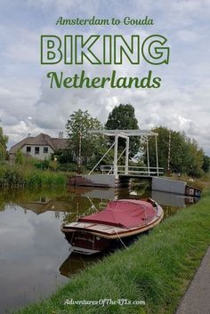If you are considering taking a long distance bike tour, the Netherlands is perfect. Flat ground, lots of bike paths, and even companies that will take your suitcase from hotel to hotel. Join us as we share the story of a solo biking journey from Amsterdam to Paris! This installment will cover Amsterdam to Gouda. Experience beautiful landscapes, gorgeous windmills, pretty canals, cute villages, and more! #adventuresofthe4jls #travel #netherlands #europe #solotravel #cycling Gouda Netherlands, Travel Netherlands, Travel Through Europe, Travel Around The World, Worldwide Travel, Travel Inspiration, Travel Ideas, Travel Couple, Vacation Destinations