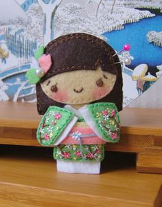 :: Crafty :: Stitch :: Geisha_felty_