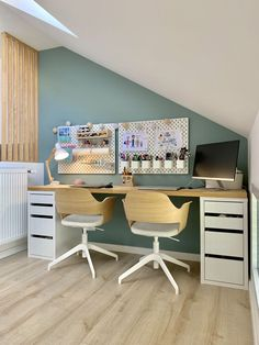 Office Inspo, Home Organization Hacks, Spare Room, Room Paint, Home Staging, Boy Room, Home Office, Corner Desk, Kitchen Design