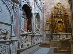 Capilla del Doncel en la Catedral de Sigüenza, Guadalajara, España