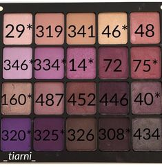 IG: _tiarni_ Pinks/purples inglot freedom eyeshadow palette