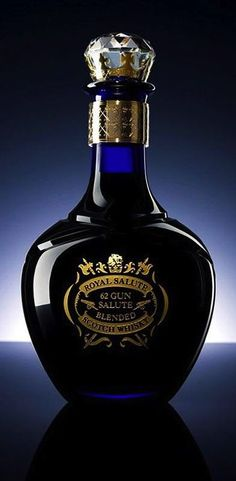 Royal Salute Whisky Launches Limited Edition 62 Gun Salute Whiskey in a Gold and Crystal Decanter Cigars And Whiskey, Bourbon Whiskey, Whiskey Bottle, Bourbon Drinks, Alcohol Bottles, Liquor Bottles, Vodka Bottle, Root Beer, Jars