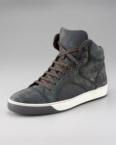 Lanvin - Camouflage High-Top