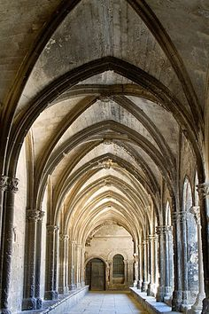Cloister of Saint Trophimus cathedral 12th century, monument declarated World…