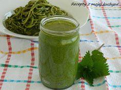 RECEPTY Z MOJEJ KUCHYNE A ZÁHRADY: Žihľavové pesto Pesto Recipe, Chutney, Pickles, Cucumber, Vegetarian, Make It Yourself, Expo 2015, Dressing, Foods