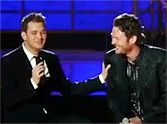 Michael Bublé Gets a Fun Surprise While Performing Home - You'll Love This