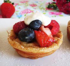 Berry Popover Pancakes