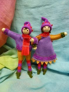 pipe cleaner dolls - Google Search