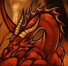 how to draw smaug from the hobbit