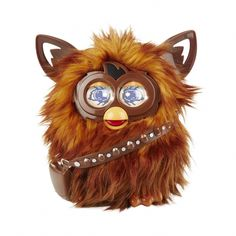 Star Wars Furbacca Awakens Chewbacca Furby when you activate the Furbacca app. This little action packed Furby reacts to Motion and Touch. Chewbacca makes wookiee sounds and will hum Star Wars theme songs along with playing virtual activitie