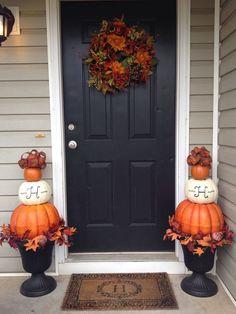 57 Cozy Thanksgiving Porch Décor Ideas Autumn Decor Pinterest And
