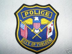 Turlock, California Police Embroidered Patch with Bear Flag | Bear Flag Museum  http://bearflagmuseum.blogspot.com/2013/07/turlock-california-police-embroidered.html