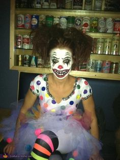 Clown DIY Halloween Costume