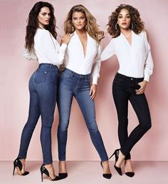 New denim collection at bebe featuring 3 fabulous fits - the slim, hourglass, & curvy