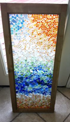 marble window.  Would be awesome in a bathroom