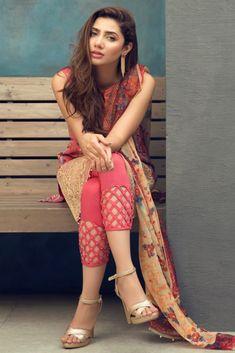 Alkaram Studio Unstitched Mid Summer 3 P - Womens Fashion Salwar Designs, Kurti Neck Designs, Kurti Designs Party Wear, Blouse Designs, Kurti Sleeves Design, Sleeves Designs For Dresses, Pakistani Dresses Casual, Pakistani Dress Design, Fashion Pants