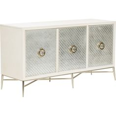 The Salon Media Console is Hollywood glam at its finest. With solid brass hardware and beautiful silver leaf scallop details, it is the perfect media console to hold all your unsightly components. Living Room Modern, Living Room Decor, Dining Room, Dining Chair, Console Furniture, Furniture Storage, Console Tables, Muebles Living, Room Interior Design