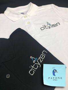 Polo μπλουζάκια 100% cotton, με κέντημα στην πλάτη και στο στήθος το logo της επιχείρησης.