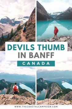 THE DEVILS THUMB | Lake Louise | The Coastal Campaign