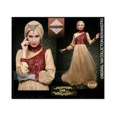 Gamis Satin Arabian Hijab L R116 Online dan Murah - http://www.butikjingga.com/gamis-satin-arabian-hijab-l-r116
