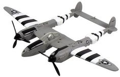 P-38 Lightning WW2 Plane Collectible 1:60 Diecast Stand Technical Specification