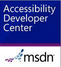 external link - MSDN Accessibility Developer Center