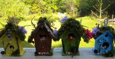 MiniFanaticus: 2 days of ahhhhhrgggg!! CRAZY!!: Miniature Fairy Birdhouse