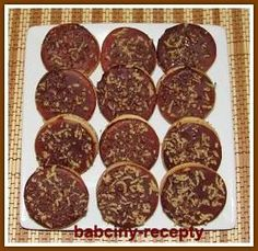 Margot kolečka | Babčiny recepty 4 Ingredients, Amazing Cakes, Food And Drink, Cookies, Blog, Mascarpone, Crack Crackers, Biscuits, Blogging