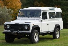 Land Rover Defender 110 300tdi ... left hand drive. Gorgeous.