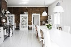 i die. this is the perfect kitchen. those walls!!