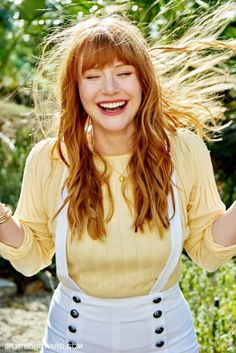 Bryce Dallas Howard, Jurassic World Claire, The Hollywood Bowl, Evan Rachel Wood, Famous Women, Beautiful Actresses, Redheads, Red Hair, Beautiful People