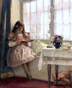 pintura de Walter MacEwen (1860 – 1943)