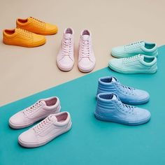 """Vans x Opening Ceremony """"Easter Pack"""" - EU Kicks: Sneaker Magazine Kid Shoes, Men's Shoes, Shiny Shoes, Pastel Vans, Moda Outfits, Shoe Sites, Sneaker Magazine, Clothing Photography, Product Photography"""