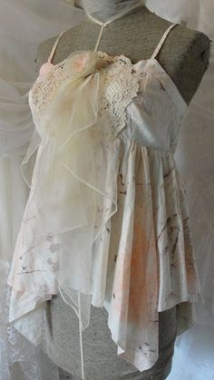 Shabby chic mori girl whimsical faery by SummersBreeze on Etsy, $38.95