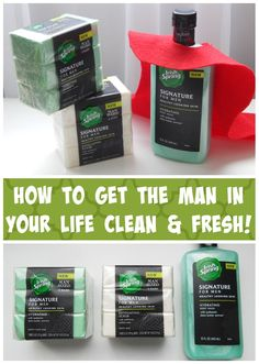 How to Get the Man in Your Life Clean & Fresh with Irish Spring! #MySignatureMove #ad