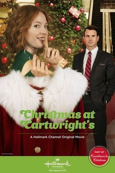 """TONIGHT Alicia Witt must keep a secret in the midst of a blossoming holiday romance! Don't miss the premiere of """"Christmas at Cartwright's"""" TONIGHT only on Hallmark Channel USA! Hallmark Holiday Movies, Great Christmas Movies, Xmas Movies, Movies 2014, Hallmark Holidays, Christmas Shows, Family Movies, Good Movies, Christmas Christmas"""