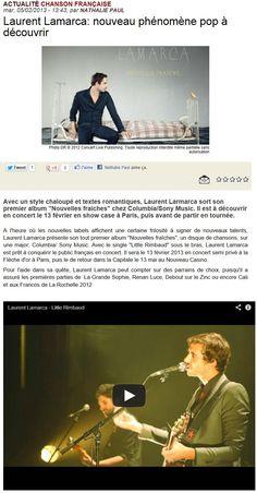 Concert Live, 5 Février 2013