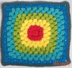 MooglyCAL2017 Block #2 - courtesy of Salena Baca Designs!  *** #cal #crochet along #pattern #free #crochet #crafts #diy #moogly #baca designs