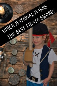 Which material makes the best pirate sword #piratescienceforkids #scienceforkids Pirate Activities, Preschool Science Activities, Science Experiments Kids, Science For Kids, Sword Craft For Kids, Crafts For Kids, Play Based Learning, Fun Learning, Early Years Framework