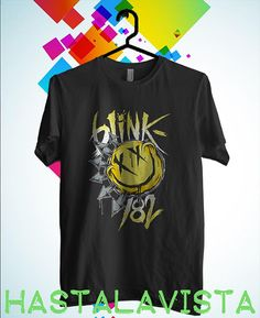 blink 182 logo shirt blink 182 tshirt black by hastalavistababy