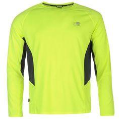Karrimor | Karrimor Long Sleeved Running T Shirt Mens | Mens Running T Shirts