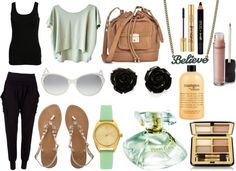 """""""Lovely sandals..."""" by zoe-keredy ❤ liked on Polyvore"""