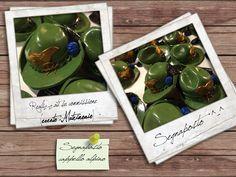 Segnaposto (copia cappello alpino) commissionato per matrimonio. Materiale: pasta polimerica.