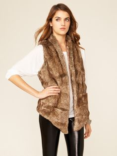 Faux-Fur Aspen Vest by Tart on Gilt.com