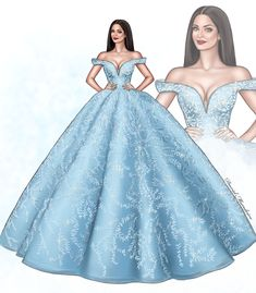 💎 Aishwarya Rai Bachchan 💎 in Michael Cinco Couture at by David Mandeiro Illustrations Dress Design Drawing, Dress Design Sketches, Fashion Design Sketchbook, Fashion Design Drawings, Dress Drawing, Fashion Sketches, Dress Designs, Drawing Sketches, Wedding Dress Sketches