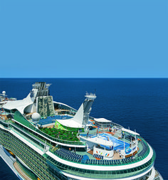 Clear skies on Liberty of the Seas.
