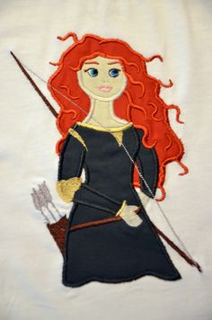 Boutique Disney Brave Princess Merida by RufflesandRosesLLC