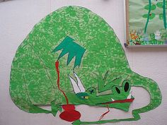 Mural per Sant Jordi (Green , english) Scouts, Mythical Dragons, Saint George, Bella, Dinosaur Stuffed Animal, Bb, Kids Rugs, English, Green