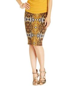 38725fe1e9 18 Best Skirts images | Ladies fashion, Office looks, Printed pencil ...