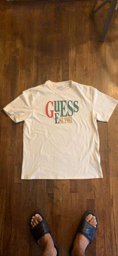 GUESS t shirt Guess Shirt, T Shirts For Women, Medium, Tops, Products, Fashion, Moda, Fashion Styles, Shell Tops
